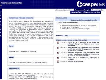As consultas poderão ser feitas a partir desta quinta, 26 - Foto: Reprodução   Cesp/UNB