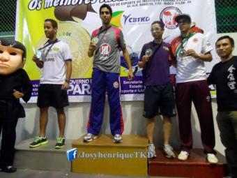 Josyhenrique foi o primeiro baiano a conquistar medalha de ouro no Campeonato Brasileiro - Foto: Site Oficial do Vitória | Divulgação