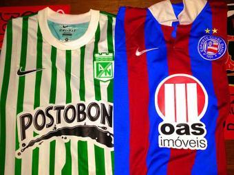 Camisas dos clubes para partida desta quinta-feira - Foto: Divulgação