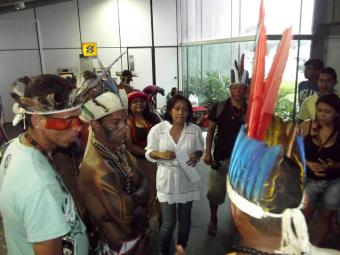 A previsão é de que os índios concursados estejam em sala de aula em março de 2014 - Foto: Agnaldo Pataxó Hã-hã-hãe   Foto do Leitor