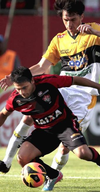 Sem boa atuação, Leão saiu de campo com sua sétima derrota no campeonato - Foto: Eduardo Martins | Ag. A Tarde