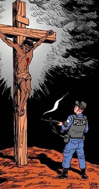 Cartum de Carlos Latuff foi censurado pelo TJ-RJ - Foto: Agência Estado