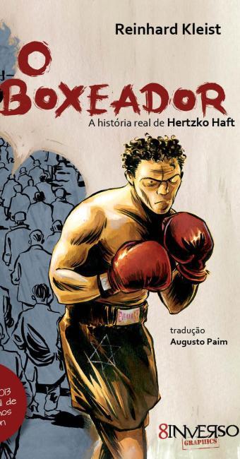 Capa da Graphic Novel O Boxeador - Foto: Divulgação