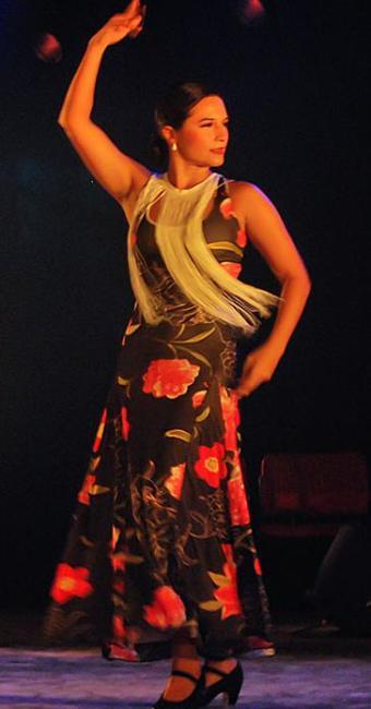 Cecília Sepúlveda apresentará coreografia de dança flamenca - Foto: Divulgação