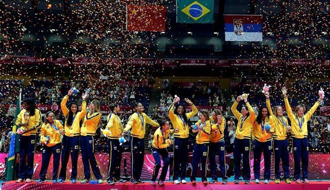 Brasil entrou em quadra precisando vencer apenas dois sets, mas fez mais do que isso - Foto: Divulgação | FIVB