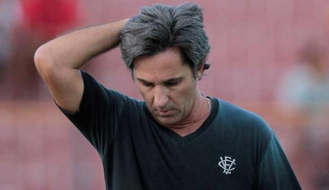 Caio Júnior chegou este ano no Vitória e dirigiu o time por 43 partidas - Foto: Eduardo Martins | Ag. A TARDE