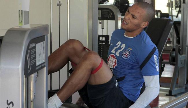 Titi realiza treino físico na academia do Fazendão - Foto: Eduardo Martins | Ag. A TARDE