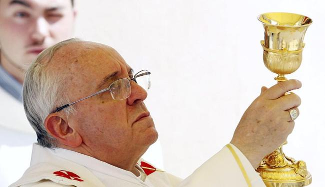 Papa Francisco esteve no Brasil durante Jornada Mundial da Juventude - Foto: Agência Reuters