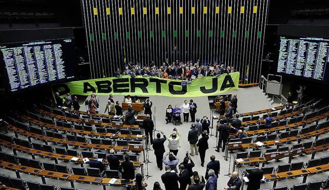 Após manter Donadon, Câmara aprova voto aberto, por unanimidade, e passa o problema para o Senado - Foto: Gustavo Lima | Câmara dos Deputados | Divulgação