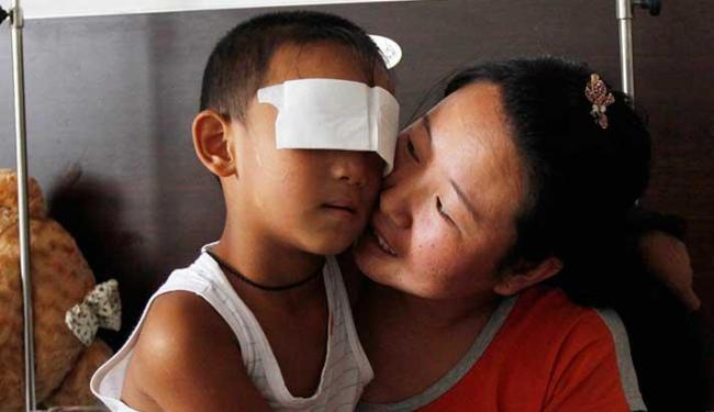 Polícia suspeita tia arrancou os olhos da criança - Foto: Ag. Reuters