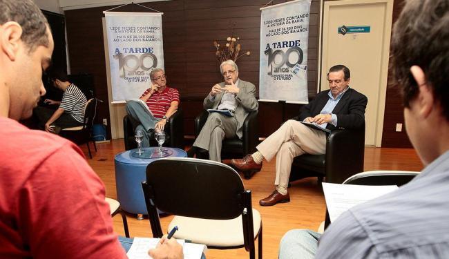 A três dias da eleição, candidatos debateram no Grupo A TARDE - Foto: Mila Cordeiro | Ag. A TARDE