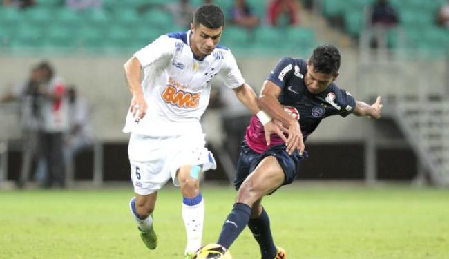 Esquadrão não conseguiu se impor e perdeu a sétima partida no campeonato - Foto: Eduardo Martins   Ag. A Tarde
