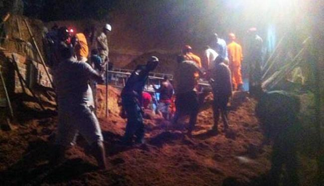 Resgate foi realizado por equipes do Corpo de Bombeiros - Foto: Divulgação | PM BA