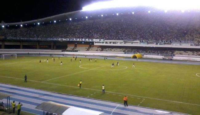 Cerca de 10 mil torcedores do Remo estiveram presente no Mangueirão para acompanhar o duelo - Foto: Facebook | Reprodução
