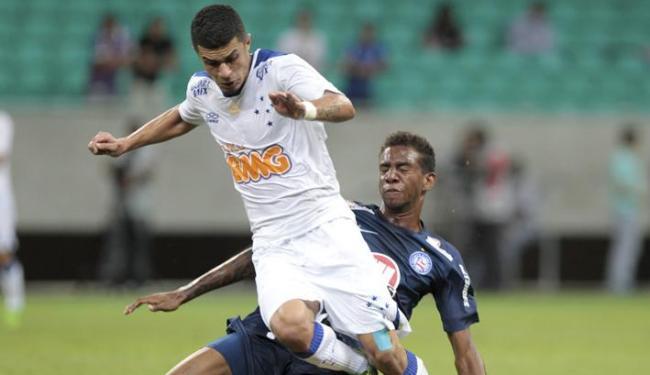 Talisca levou o cartão amarelo no 2º tempo contra o Cruzeiro e está fora do jogo de sábado no Maraca - Foto: Eduardo Martins | Ag. A Tarde