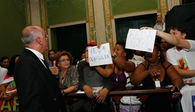 Propostas foram aprovadas em sessão tensa - Foto: Margarida Neide | Ag. A TARDE