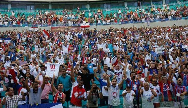 Mais de 10 mil sócios escolhem o novo presidente do clube neste sábado, na Arena Fonte Nova - Foto: Margarida Neide / Ag. A TARDE