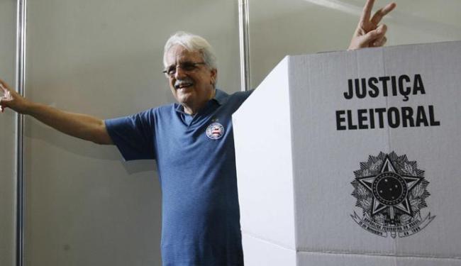 Schmidt, 69 anos, já foi presidente do Bahia entre os anos de 1975 e 1979 - Foto: Margarida Neide / Ag. A TARDE