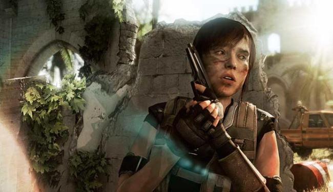 A atriz Ellen Page deu vida à protagonista do game - Foto: Divulgação