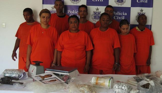 Quadrilha é suspeita de nove homicídios em dois anos - Foto: Ascom | Polícia Civil