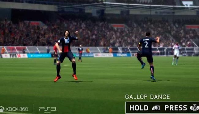 Até dança à la Gangnam Style terá no game Fifa 14 - Foto: Reprodução
