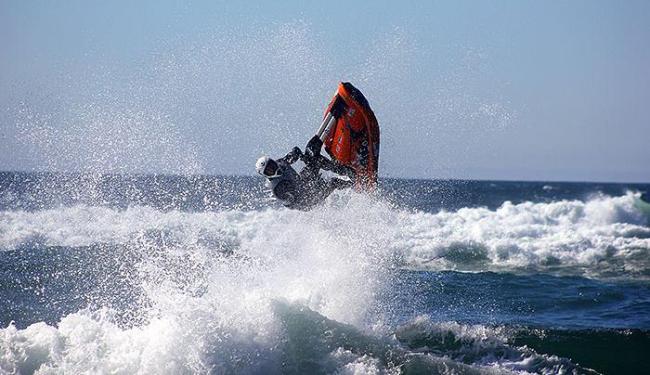 O atleta de Salvador garantiu um excelente resultado nas ondas de Pacific City - Foto: Divulgação