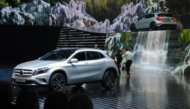 Mercedes-Benz GLA tem previsão de ser importado para o Brasil a partir de 2014 - Foto: Roberto Nunes   Ag. A TARDE