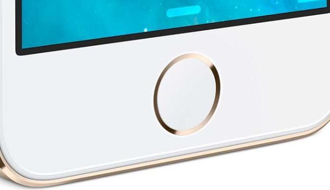 Botão de Home do iPhone 5S tem leitor de impressão digital - Foto: Divulgação