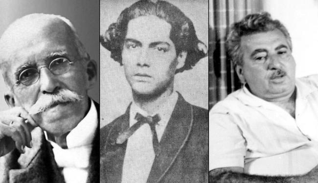 Ruy, Castro Alves e Jorge Amado são os primeiros, mas relação tem 122 nomes - Foto: Montagem | Ag. A TARDE