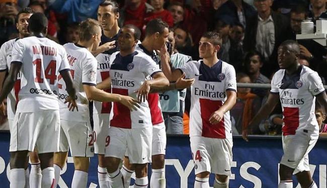 Meia brasileiro finalmente desencantou e marcou seu primeiro gol pelo PSG - Foto: Regis Duvignau / Agência Reuters