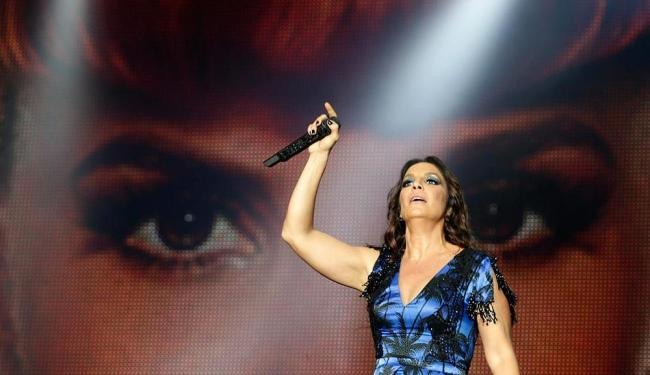 Ivete encantou o público ao cantar Love of My Life, do Queen, durante show - Foto: Agência Reuters