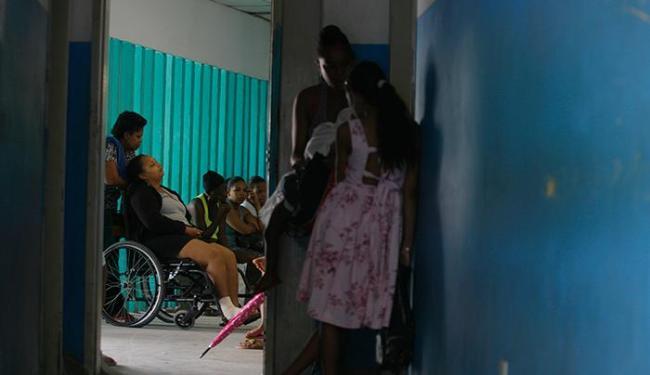 No Centro de Saúde Rodrigo Argolo, em Arenoso, o número de profissionais é insuficiente - Foto: Raul Spinassé | Ag. A TARDE