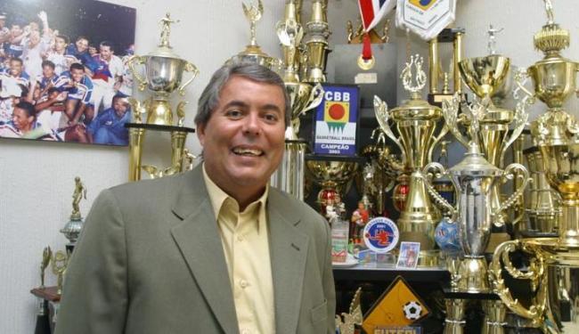Accioly foi superintendente do Bahia de 2001 a 2013; seu salário base era de R$ 19.153,00 - Foto: Margarida Neide / Ag. A Tarde