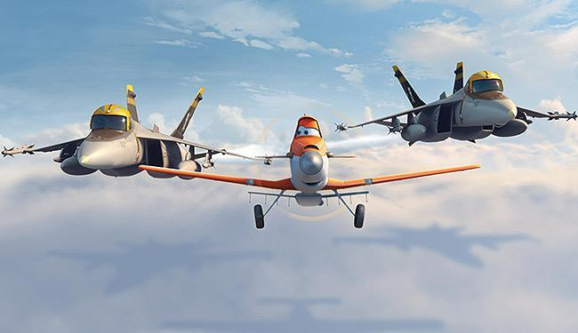 Cena de Aviões, nova animação da Disney - Foto: Divulgação