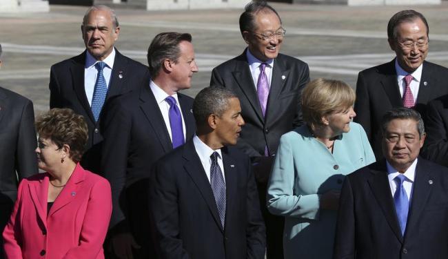 Presidente esteve com Obama no encontro do G-20 na Rússia - Foto: Sergei Karpukhin   Reuters