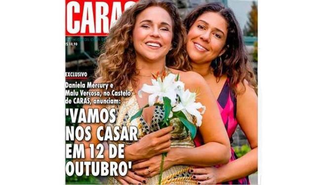 Daniela Mercury e Malu Verçosa são os destaques da Caras - Foto: Divulgação
