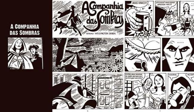 A Companhia das Sombras é uma das histórias presentes em Fantasmagoriana - Foto: Divulgação