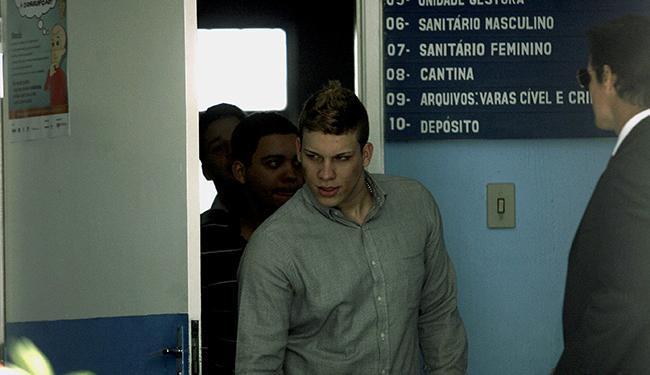 O ex-vocalista do grupo, Eduardo Martins, o Dudu, permaneceu calado em juízo - Foto: Luiz Tito l Ag. A TARDE
