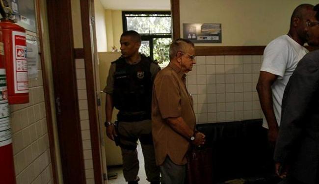 Marcos Bronasso foi autuado pelo crime de vias de fato e liberado na delegacia - Foto: Joá Souza   Ag. A TARDE
