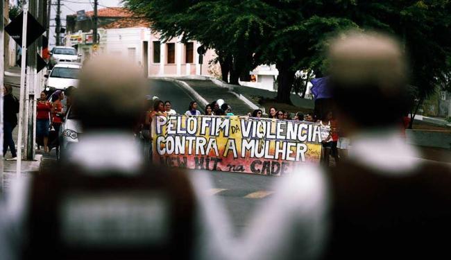 PM reforçou segurança em Ruy Barbosa para julgamento - Foto: Luiz Tito | Ag. A TARDE
