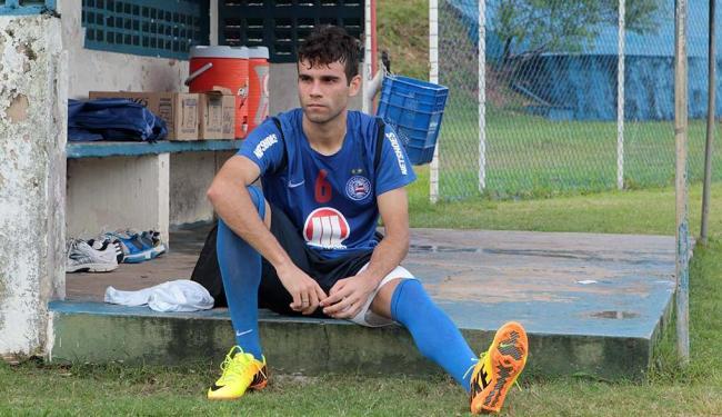 A última partida de Jussandro como titular foi contra a Portuguesa pela Sul-Americana - Foto: Eduardo Martins | Ag. A TARDE