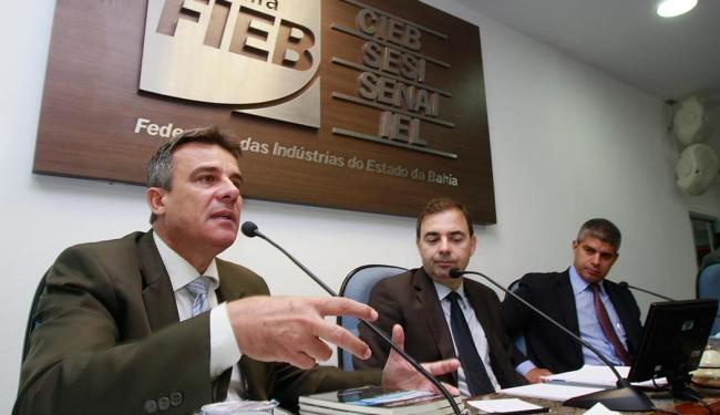 Mário Duarte, coronel da PM do Rio de Janeiro, durante o evento Salvador em Debate - Foto: Joá Souza | Ag. A TARDE