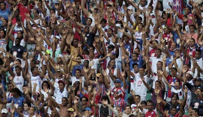 Medida deve estar em vigor até o Ba-Vi do dia 9 de outubro, que tem o mando de campo do Bahia - Foto: Eduardo Martins | Ag. A Tarde