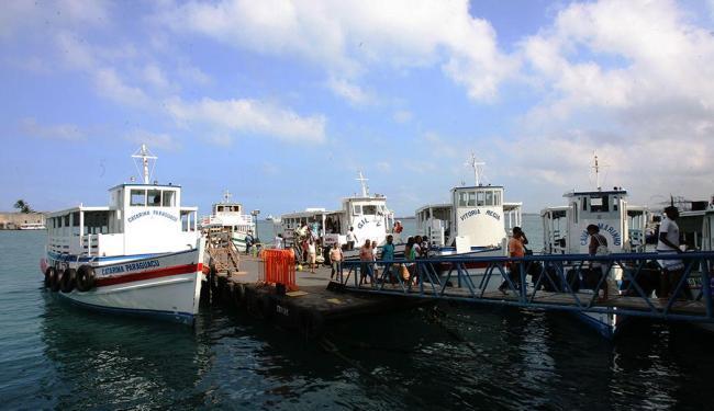 Travessia Salvador-Mar Grande só volta operar às 11h30 - Foto: Arestides Baptista | Ag. A TARDE