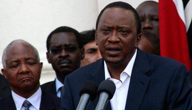 Uhuru Kenyatta afirmou que o governo tem relatos do envolvimento de homens e mulheres na ação - Foto: Agência Reuters