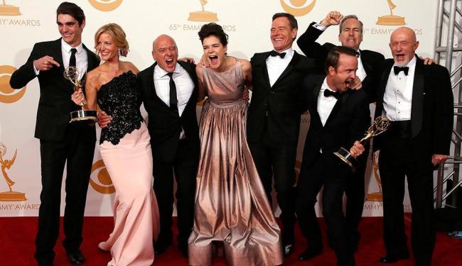 A série Breaking bad foi uma das grandes vencedoras da 65ª edição do Prêmio Emmy - Foto: Lucy Nicholson   Agência Reuters