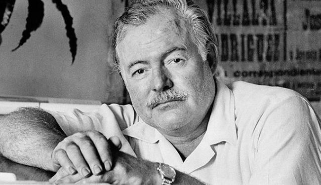 Ernest Hemingway é autor de vários clássicos da literatura mundial - Foto: Divulgação