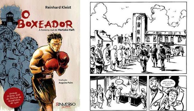 Graphic Novel conta história de polonês que sobreviveu graças ao boxe - Foto: Divulgação