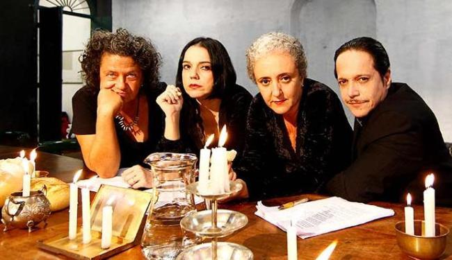 Aninha Franco, Bete Coelho, Rita Assemany e Ricardo Bittencourt  no ensaio - Foto: Eduardo Martins | Ag. A TARDE