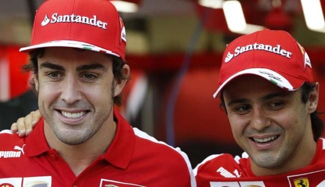 Segunda Massa, não há muito que ele possa fazer para ajudar Alonso contra Vettel - Foto: Edgar Su/ Agência Reuters